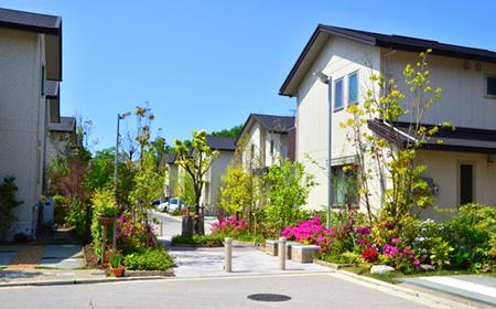 綺麗な住宅地